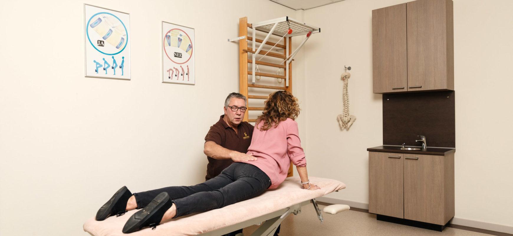 fysiotherapie, breda, breda west, paramedisch centrum, fysiotherapeut, fysiotherapiepraktijk, behandelingen, rugpijn, nekpijn, bekkenpijn, rugklachten, nekklachten, bekkenklachten, McKenzie therapie